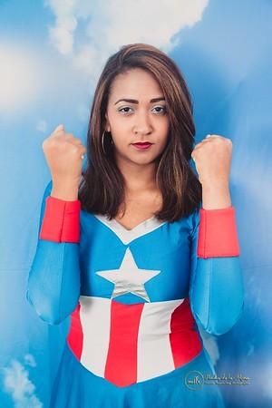 17. Aura Capitan America
