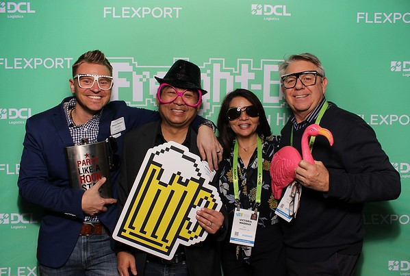 Flexport's and DCL Logistics at CES 2019