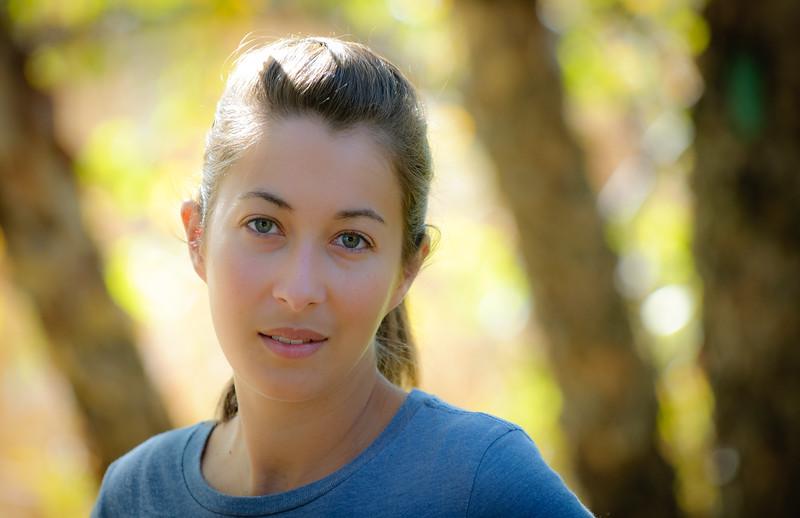 Keri at Reiman Gardens