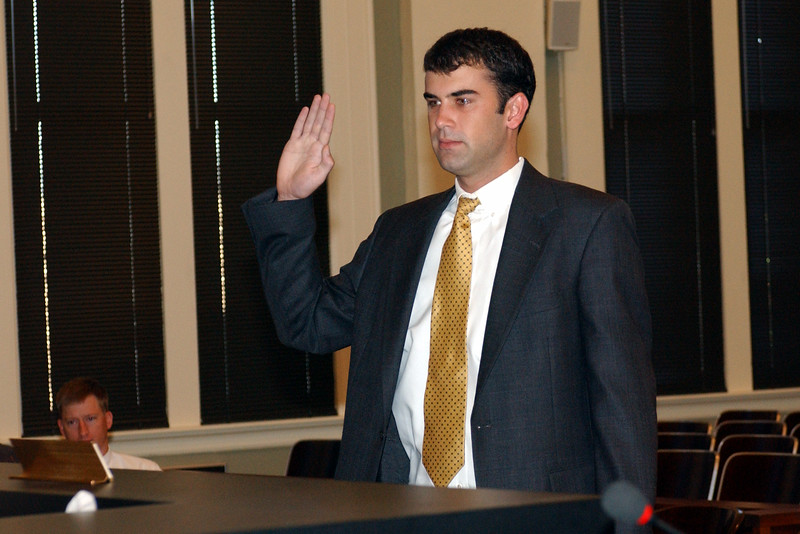 2003 Mathew Mallory Sworn in as Attorney