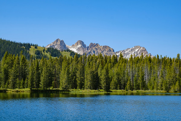 Sawtooth Wilderness - Bench Lakes Trail