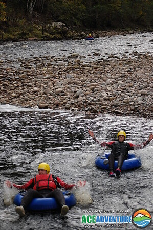 15th October 2011 Canyoning on the River Findhorn with Ace Adventures