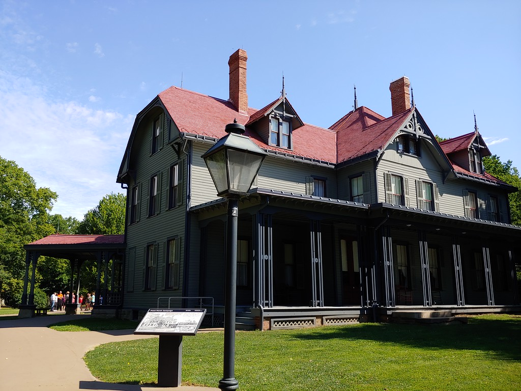 . The James A. Garfield National Historic Site in July 2018. (Betsy Scott, The News-Herald)