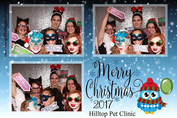Hilltop Pet Clinic - Merry Christmas 2017
