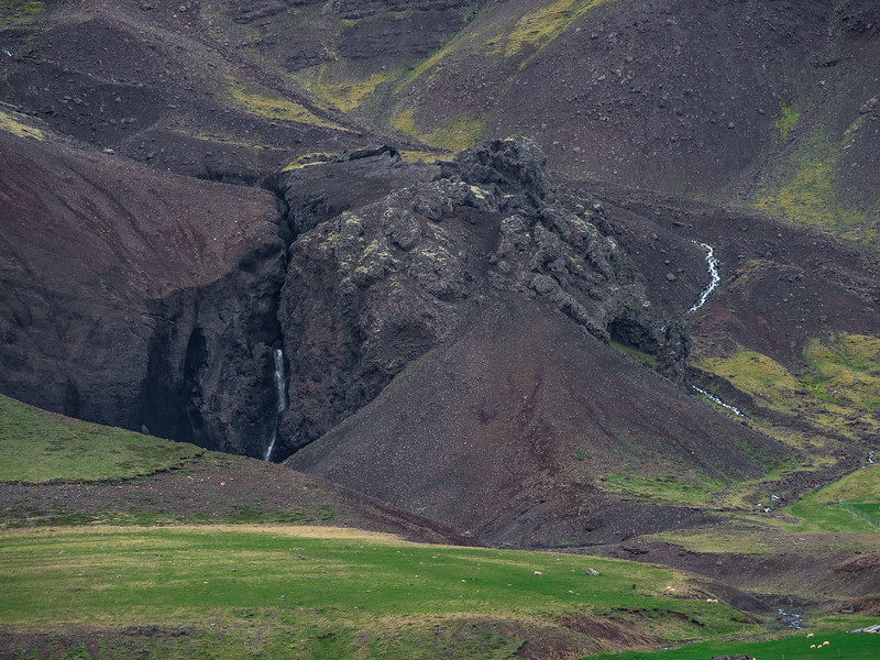 Mounts Look Like Coal in Iceland    Photography by Wayne Heim