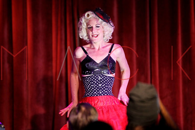 NEW YORK, NY - SEPTEMBER 29:  The Teaser Party kick off during the 9th annual New York Burlesque Festival at The Bell House on September 29, 2011 in the Brooklyn borough of New York City.