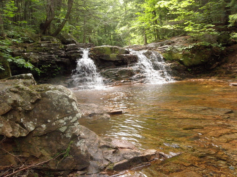 Small falls on Lucy Brook