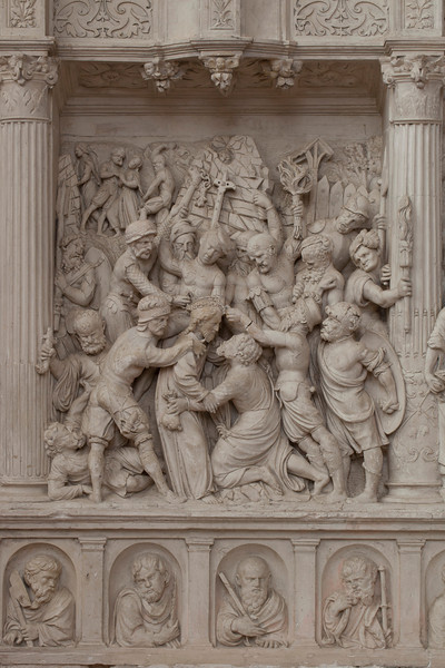 Chaource, Eglise Saint-Jean-Baptiste - The Kiss of Judas