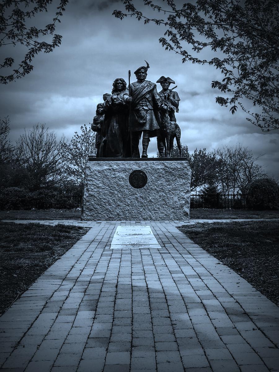 历史名城费城,市中心的雕塑
