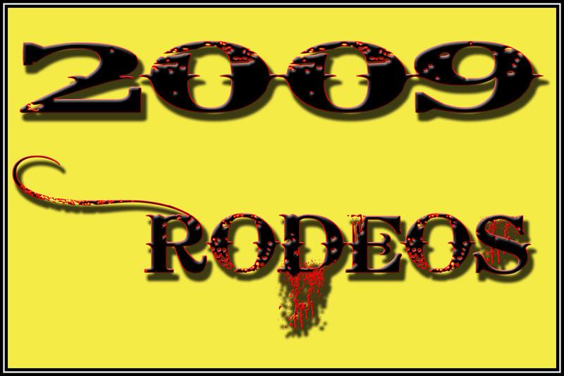 2009  RODEOS