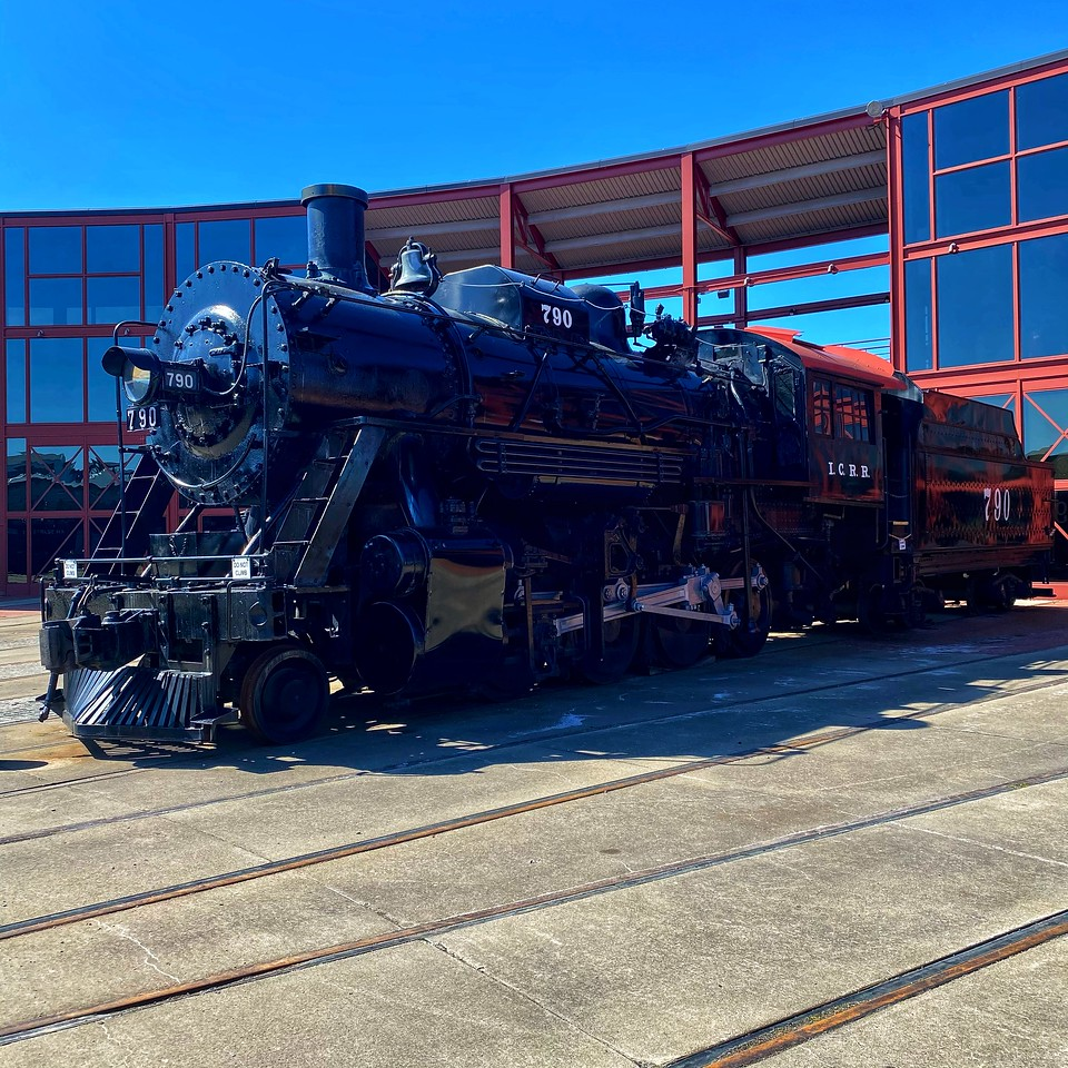 engine 790 at Steamtown national historical site - scranton pennsylvania