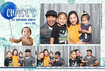 Chase's 1st Birthday (Mini Open Air Photo Booth 2)
