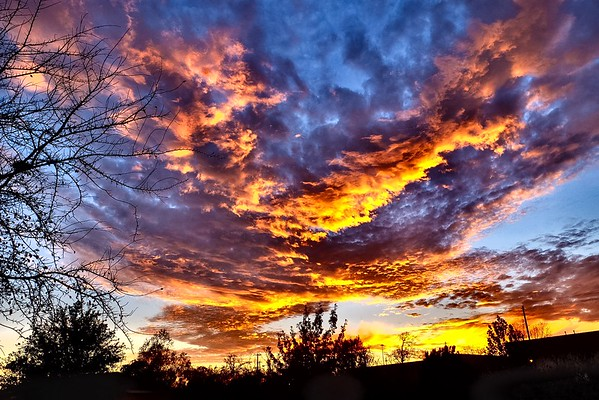 Winter Solstice Sunset 2016
