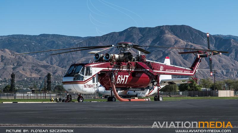 Helicopter Transport Services / Sikorsky CH-54B Skycrane / N716HT