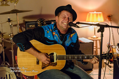 """Abe Partridge """"White Trash Lipstick"""" CD Release Party - The Listening Room CONCERT PHOTOS - 05-20-2016"""