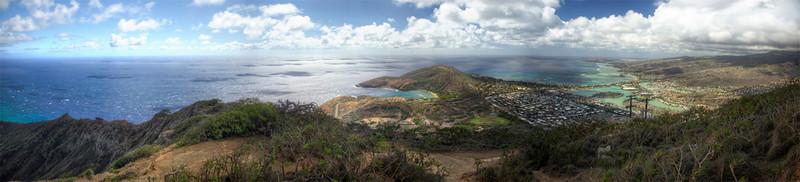 Top of KoKo Head, Oahu, Hawaii