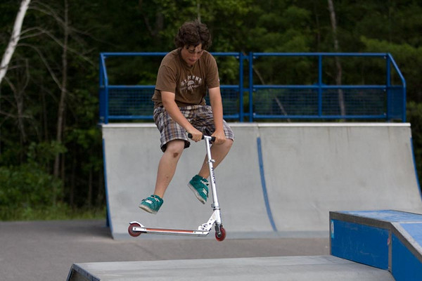 """Skateboarding and BMX at """"The Nick"""""""