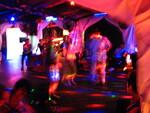 Dancing the night away at Pontoon