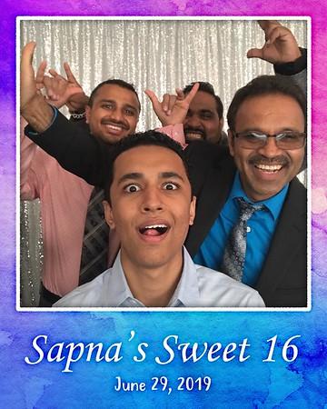 Sapna's Sweet 16 (06/29/19)
