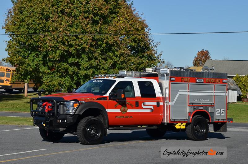 Monroe Fire Co. Mini Pumper 25: 2012 Ford F-550/Fouts Bros 300/400/10A
