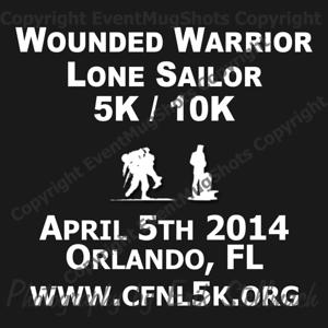 2014.04.05 Wounded Warrior Lone Sailor Run/Walk/Roll 5K/10K