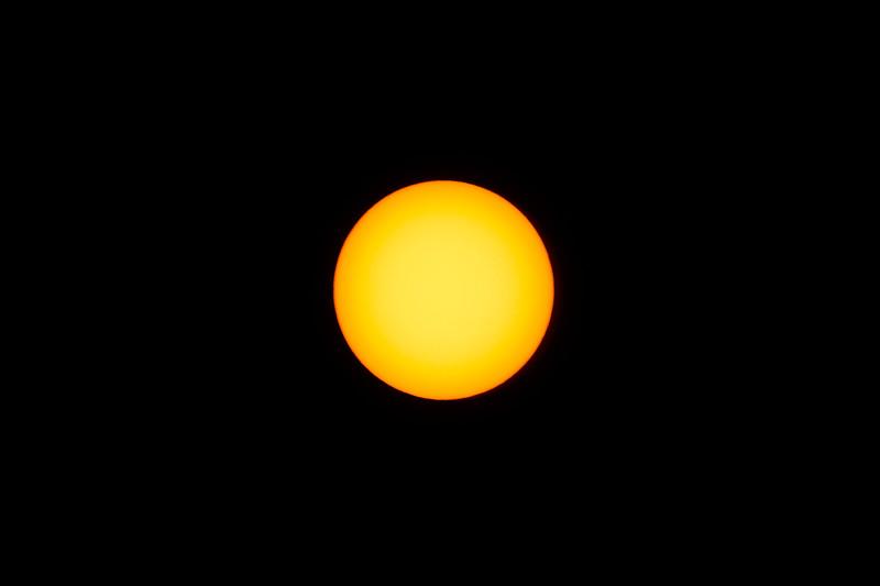 Sunspot Free - 14/4/2017 (Processed single image)