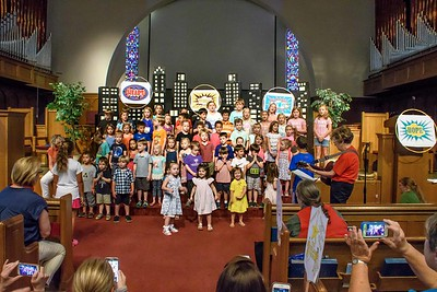 Vacation Bible School, June 2017
