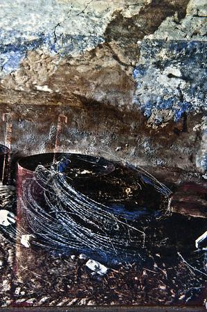 Photos peintes - le château de mon père - Ysa Gudule