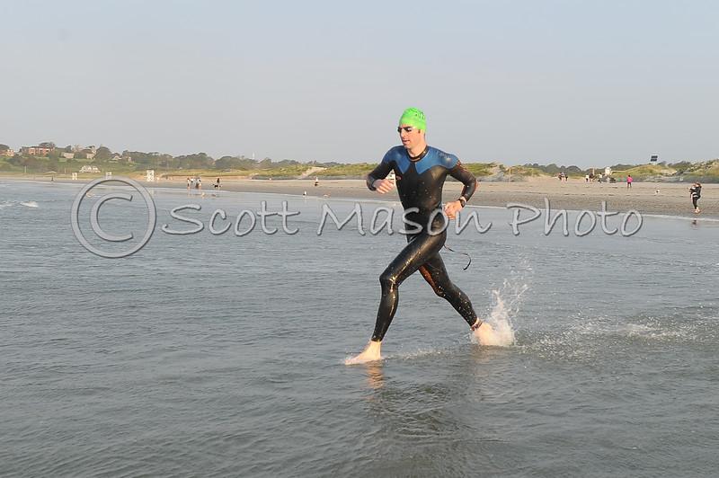 Newport Triathlon 2021 Olympic Swim Start