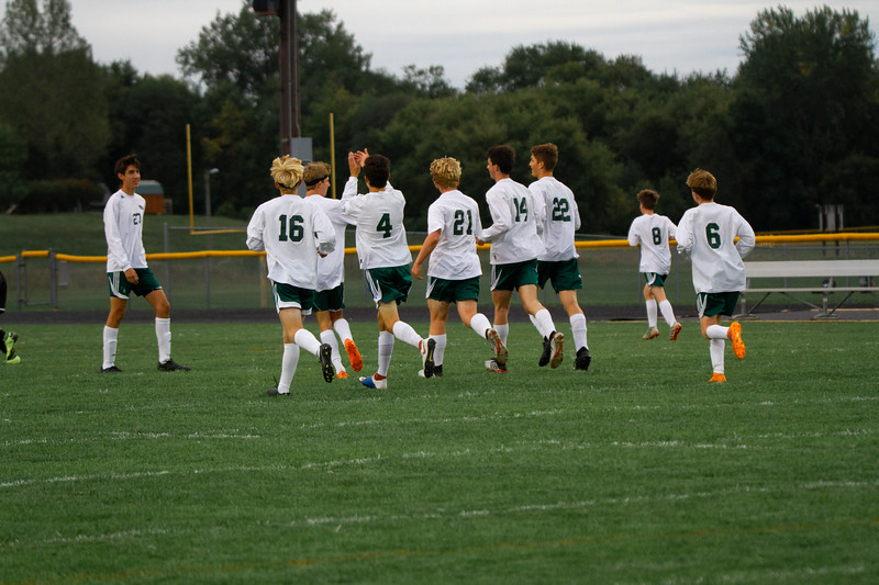 Holy Family Boys Varsity Soccer vs. Hutchinson, 9/26/19: