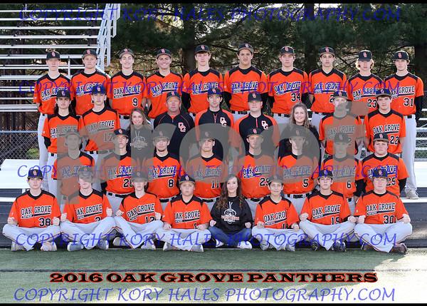 2016 OGHS Baseball