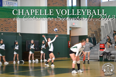 Chapelle Volleyball v. Cabrini