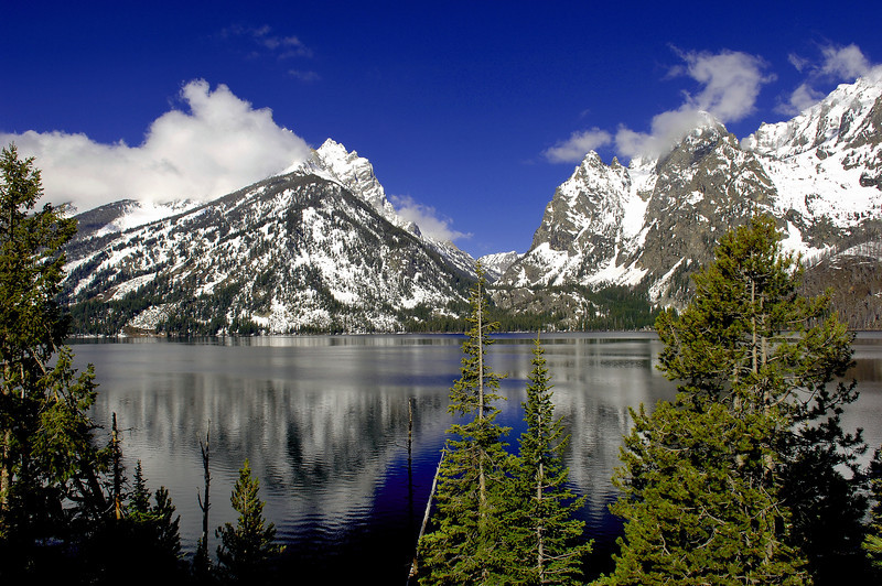 This is Jenny Lake at the Grand Tetons National Park