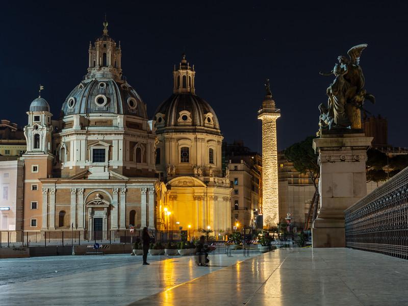 Churches of Piazza Venezia in Rome