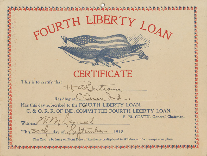 C&O RR Loan Certificate.jpg