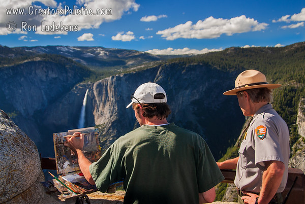 Yosemite National Park - Views from Above - Painter James McGrew