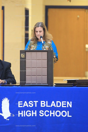 East Bladen 2013 sports banquet