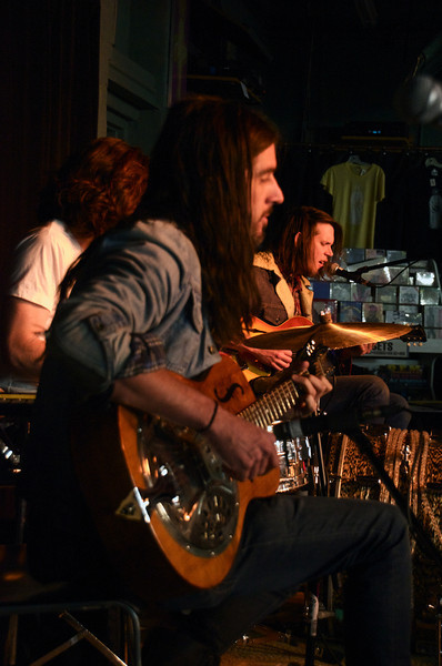 The Whigs at the Record Exchange