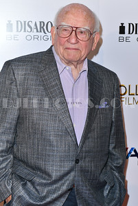 Ed Asner honored at the Hollywood Film Festival