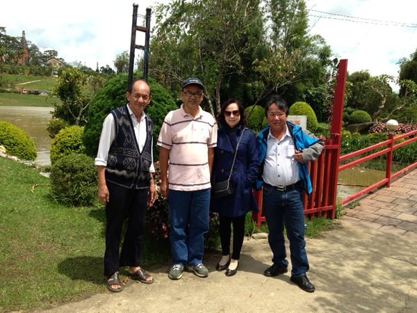 Thầy An, Sơn, Bích Thủy, Trương Văn Trung (Minh)