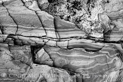 BW Rock Patterns