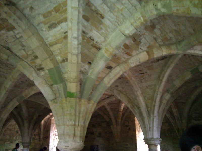 Vaulted monastic dormitory