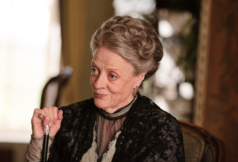 """. 7. �Downton Abbey� (PBS) � Way back in February we were left hanging at the end of Season 2 of this delectable British period piece. Essentially a high-minded soap, \""""Downton\"""" managed to transport us in time and manners, while firing up the Internet. This season again reminded us how perfectly the Brits do costumes and castles (with zingers crisply delivered by Maggie Smith)."""