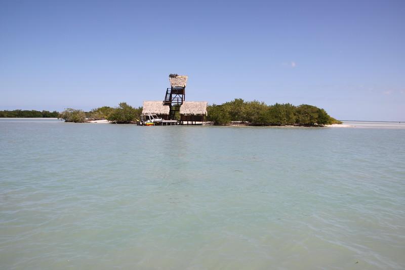 Isla Pasion with sandbar