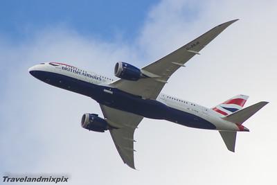 Boeing 787 Dreamliner's of British Airways
