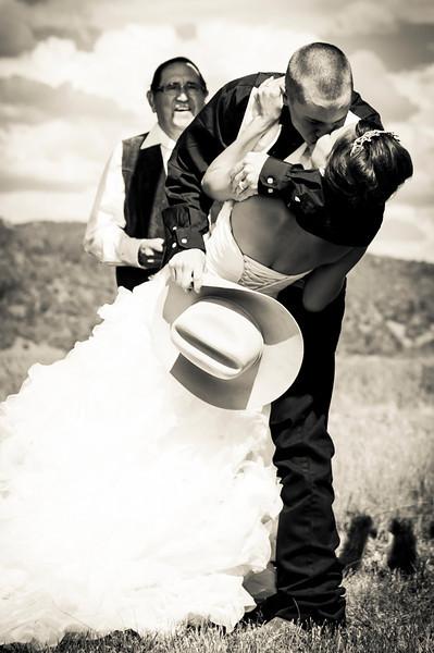 Victoria & Zane - Rustic Ranch Wedding