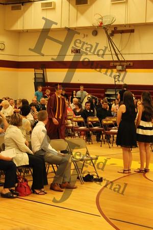 Lester Prairie High School Graduation 2015