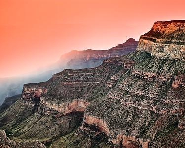 Grand Canyon - South Rim after a rainstorm