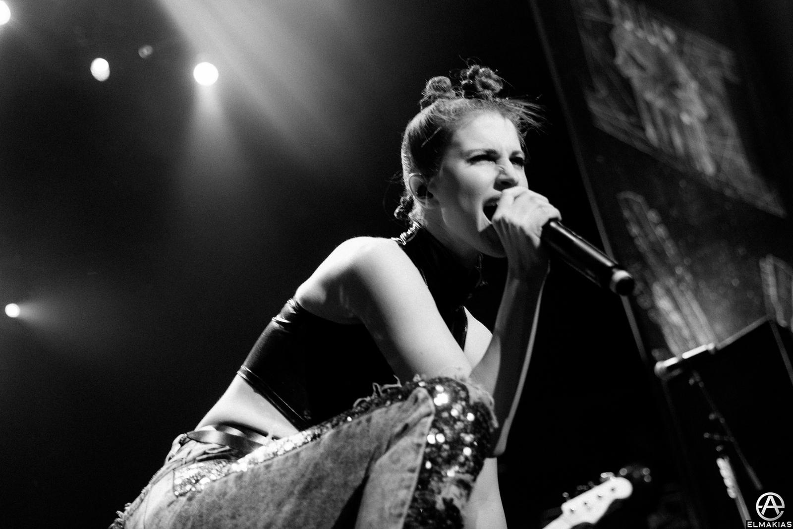 Hayley Williams of Paramore live at the Alternative Press Music Awards 2015 by Adam Elmakias
