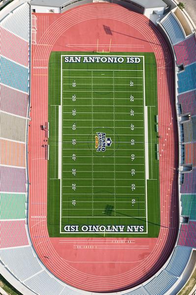 09/23/2014 093108 -- San Antonio, TX -- © Copyright 2014 Mark C. Greenberg  Alamo Stadium